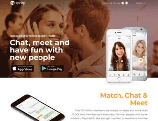 website.qeep.net screenshot