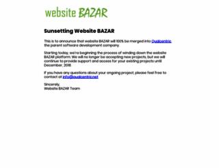 websitebazar.in screenshot