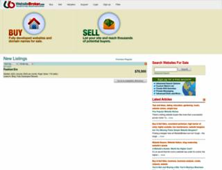 websitebroker.com screenshot