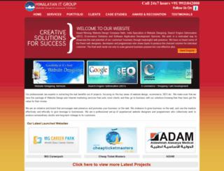 websitedesigndelhi.com screenshot