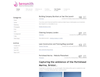 websitedesignersomerset.co.uk screenshot