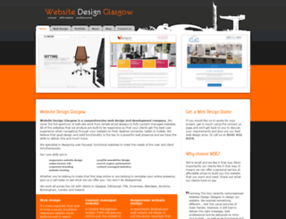 websitedesignglasgow.co.uk screenshot