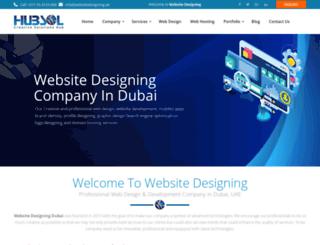 websitedesigning.ae screenshot