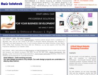 websitedesigningpromotion.co.in screenshot