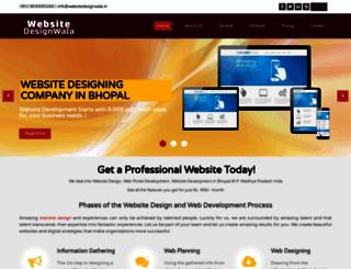 websitedesignwala.in screenshot