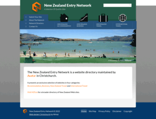 websitedirectory.co.nz screenshot