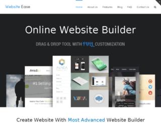 websiteease.com screenshot