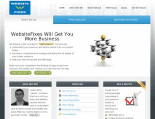 websitefixes.com screenshot