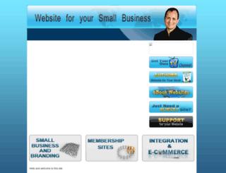 websiteforyoursmallbusiness.com screenshot
