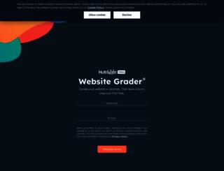 websitegrader.com screenshot
