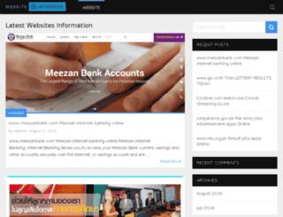 websiteinformer.org screenshot