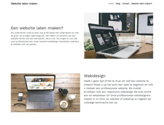 websitelatenmaken.be screenshot