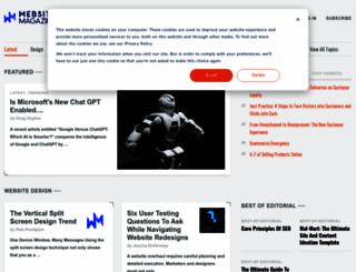 websitemagazine.com screenshot