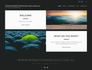 websiteproducer.com.au screenshot