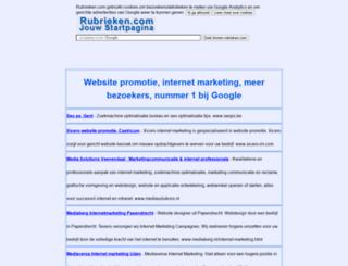 websitepromotie.rubrieken.com screenshot
