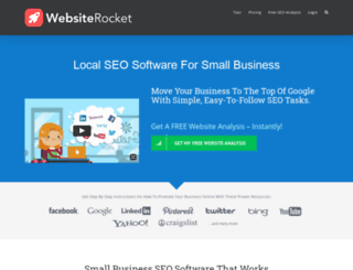 websiterocket.com screenshot