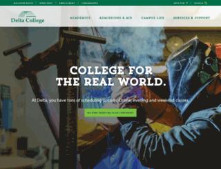 websites.delta.edu screenshot