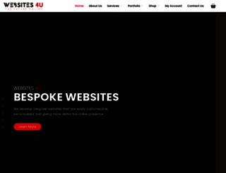 websites4u.co.za screenshot