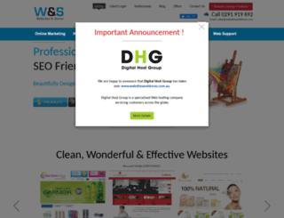 websitesandstores.com.au screenshot