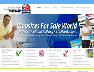 websitesforsaleworld.co.uk screenshot