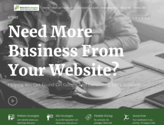 websitestrategies.com.au screenshot