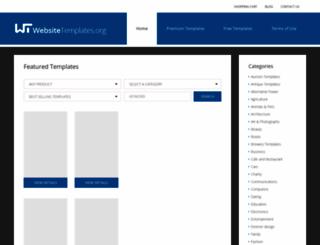 websitetemplates.org screenshot