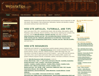 websitetips.com screenshot