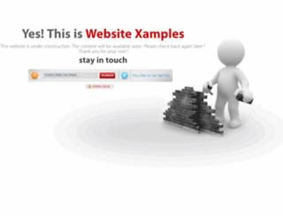websitexamples.com screenshot