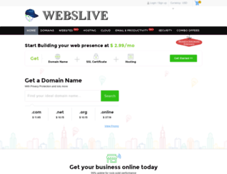 webslive.com screenshot