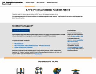 websmp107.sap-ag.de screenshot