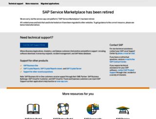 websmp205.sap-ag.de screenshot