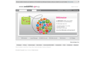 websms.com.cy screenshot