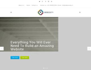 websociety.co.in screenshot