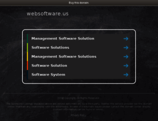 websoftware.us screenshot