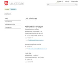 websok.lier.folkebibl.no screenshot