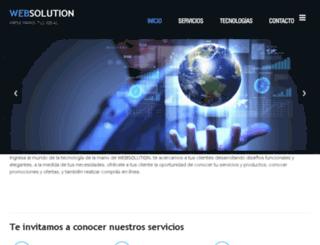 websolution.com.ve screenshot