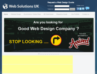 websolutionsuk.net screenshot