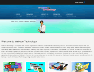 websontech.com screenshot