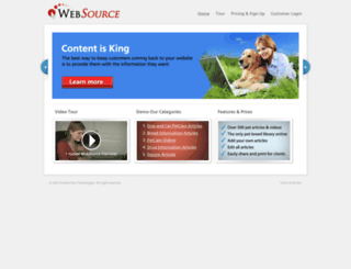 websource.4act.com screenshot