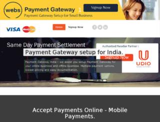 webspaymentgateway.in screenshot
