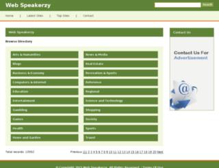 webspeakerzy.com screenshot