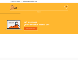 webspiderz.com screenshot
