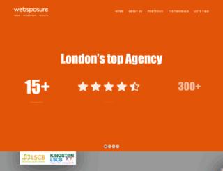 websposure.co.uk screenshot