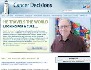 webssl.cancerdecisions.com screenshot