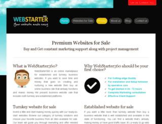 webstarter360.com screenshot