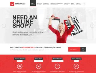 webstarters.co.nz screenshot