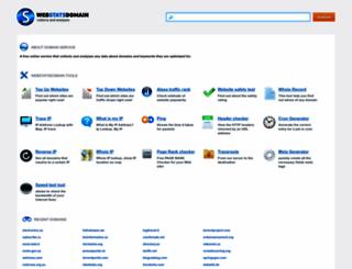 webstatsdomain.org screenshot
