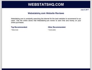 webstatshq.com screenshot