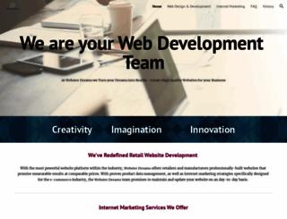 websterdreams.com screenshot