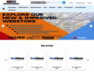 webstore.johnsonsupply.com screenshot